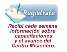 Registrate a Centro Misionero