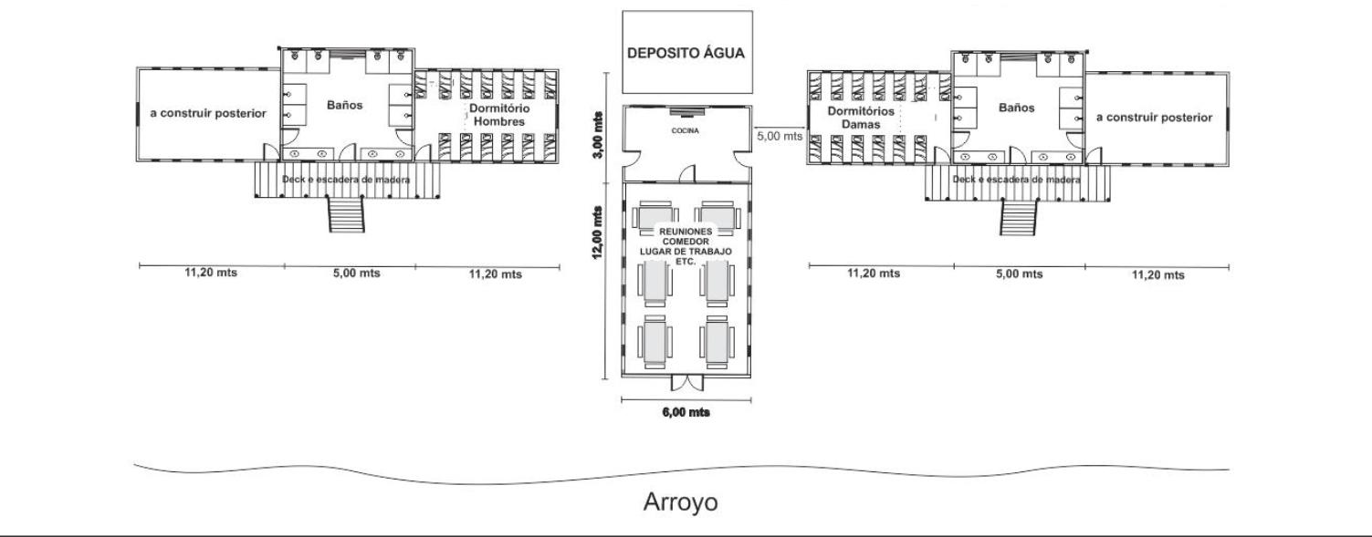 Plano de complejo Centro Misionero